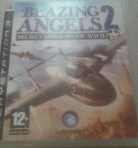 Игра BLAZING ANGELS 2 на ps3 .