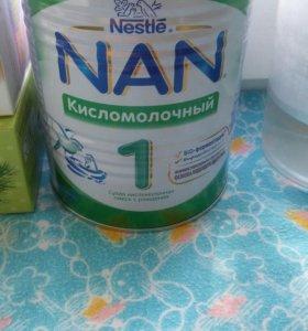Продам смесь нан кисломолочный,открыла вчера чек т