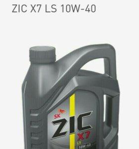 Моторное масло Zic X7 LS 10w-40