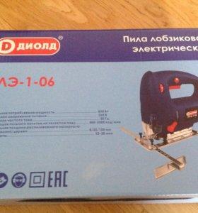 Новая Пила лобзиковая электрическая ПЛЭ-1-06