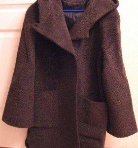 Пальто, драп с ворсом, р.44