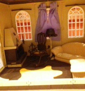 Дом для барби или кукол 30 см.