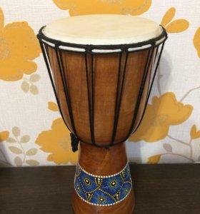 Африканский мини джембе (барабан)