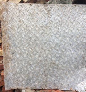 Алюминиевые листы БУ