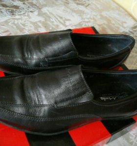 Туфли кожаные 37р.мужские