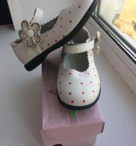 Туфли новые, 27 размер, 16,5 см