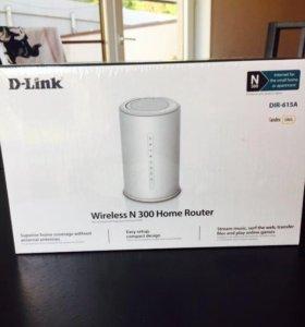 Новый роутер D-Link