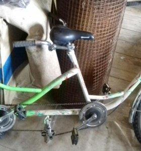 Велосипед на двоих(тандем)
