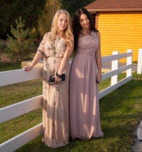 Платье 40-42 на тёмной девушке