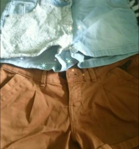 Шорты;Шорты -юбка;футболки