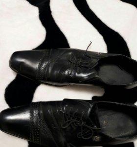 Туфли мужские натуральная кожа.
