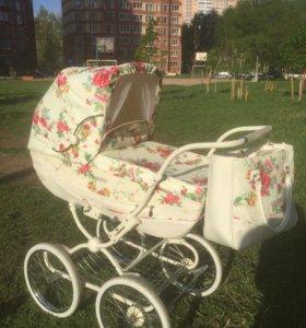 Супер удобная коляска для маленькой принцессы!