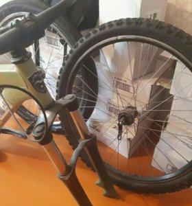 Оригинальная норка велосипед