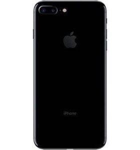 iPhone 7 128 Гб чёрный оникс