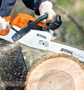 Обрезка - удаление деревьев на Вашем участке
