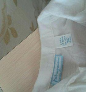 Рубашка с жилеткой 9-12 мес
