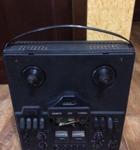Магнитофон приставка Нота-203