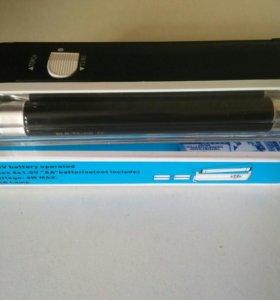 Ультрафиолетовый детектор купюр