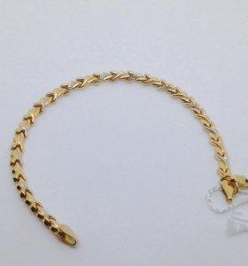 Женский золотой браслет