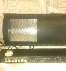Стробоскоп 750W + контролер