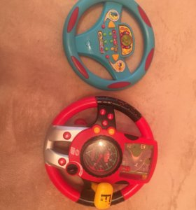 Руль игрушечный, игрушки для мальчика Cars