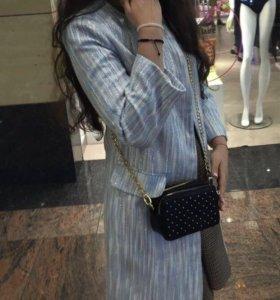 Стильное, летнее пальто в стиле Chanel, Dior