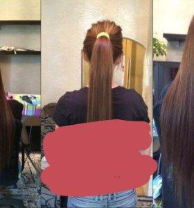Волосы славянка на капсулах