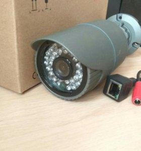 IP камера видеонаблюдения уличная. HD качество.