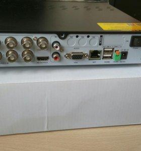Регистратор аналогового видеонаблюдения на 8 камер
