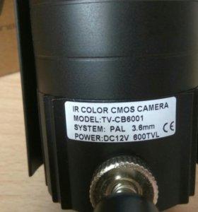 Аналоговая камера видеонаблюдения