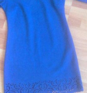Платье ткань замша