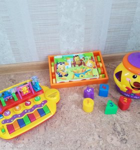 Пакет игрушек Fisher Price, Kiddieland, Smoby.