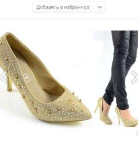 Новые туфли, 39 р
