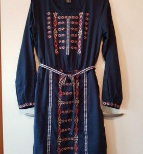Хлопковое платье BC рр46-48