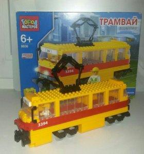 Конструктор Трамвай 302 детали
