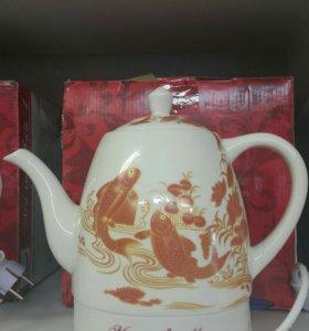 Электрический керамический чайник