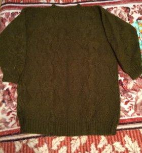 Пуловер удлиненный