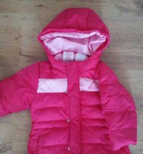 Куртка и полукомбенизон адидас