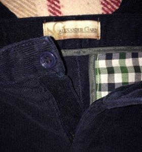 Вельветовые джинсы на 5-7 лет