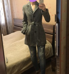 ❗️❗️❗️ ЦЕНА СНИЖЕНА!!! Пальто из шерсти размер 44