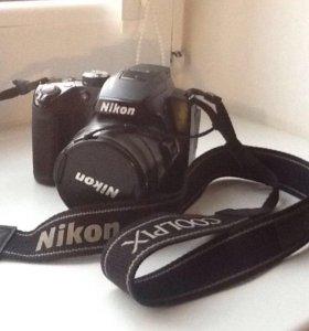 Фотоаппарат Nikon Coolpix P500 с кофром.