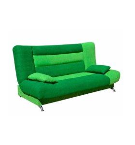 """Диван-кровать """"Лодочка"""" зеленый"""