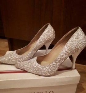 Свадебные(Италия)туфли