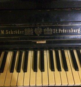 Пианино антикварное