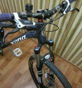 Велосипед kona tanuki с вилкой fox