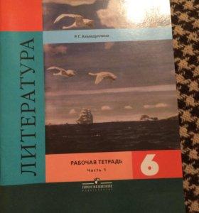 Рабочие тетради к учебнику 6 класс (2 части)