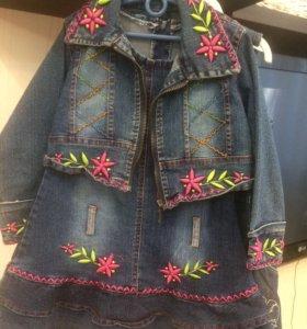 Платья для девочки 104-110