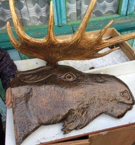 Декоративные рога