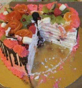 Тортик к празднику