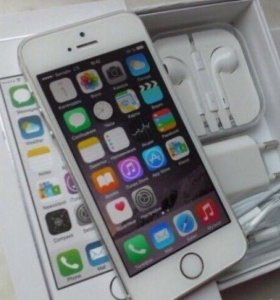 IPhone 5s silver, 16 gb